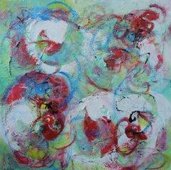 Flamenco, Painting, Acrylic on Canvas