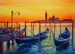 Venice Dream, Painting, Oil on Canvas