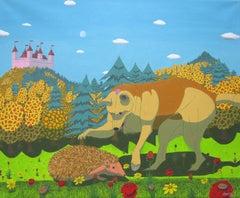 Curiosity, Painting, Oil on Canvas