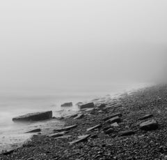 Slate Beach, Photograph, Archival Ink Jet