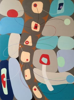 Going South #2, Painting, Acrylic on Wood Panel