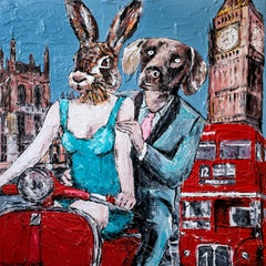 Painting Print - Gillie and Marc - Art - Limited Edition -They loved London-2019