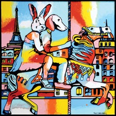 Pop Art - Painting Print - Gillie and Marc - Limited Edition - Love, fun & fairs