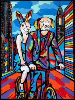 Pop Art - Painting Print - Gillie and Marc - Limited Edition - They were in love