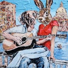 Painting Print - Gillie and Marc - Limited Edition - Art - He only sang to her