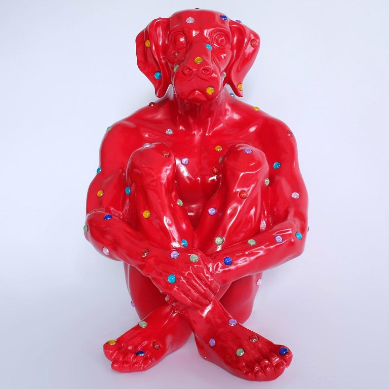 Fibreglass Sculpture - Dogman - Gillie and Marc - Limited Edition 1