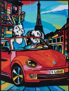 Painting Print - Pop Art - Gillie and Marc - Limited Edition - Exploring Paris