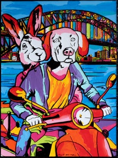 Painting Print - Pop Art - Gillie and Marc - Limited Edition - They love Sydney