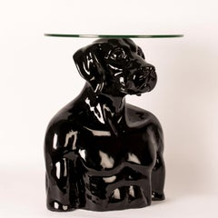 Pop Art - Sculpture - Art - Fibreglass - Gillie and Marc - Dogman - Nude - Table