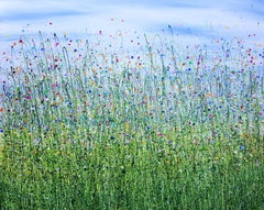 Where Wild Flowers Sing, Painting, Acrylic on Canvas