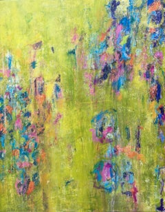 Field of Happiness, Mixed Media on Canvas