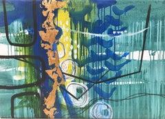 garden, Painting, Acrylic on Canvas