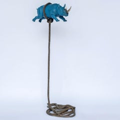 Bronze Sculpture - Gillie and Marc - Limited Edition - Blue Rhino Art - 2019
