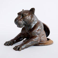 Bronze Sculpture - Gillie and Marc - Limited Edition - Tiger - Wildlife Art