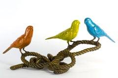 Bronze Sculpture - Limited Edition - Colourful Budgie - Bird Art