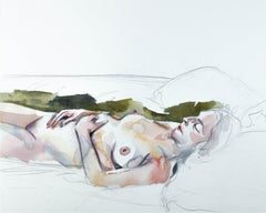 Jess No. 11, Painting, Watercolor on Paper