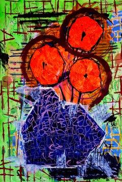 Plenitude, Painting, Acrylic on Paper