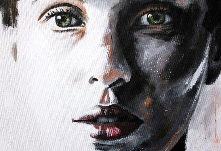 Lavinia (PORTRAIT SERIES #4), Painting, Acrylic on Canvas For Sale 1