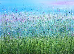 Wild & Free - End Meadows #2, Painting, Acrylic on Canvas