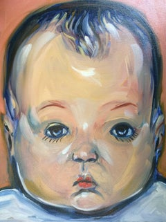 Baby Doll, Painting, Oil on Canvas