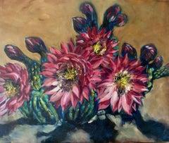 Desert Darlings, Painting, Oil on Canvas