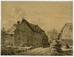 The Griftse Molen by Isendoorn a Blois - Drawing - 19th Century