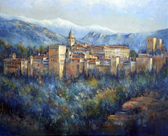 Alhambra, Painting, Acrylic on Canvas