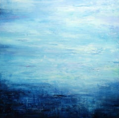 Abstract Seascape VIII, Painting, Acrylic on Canvas