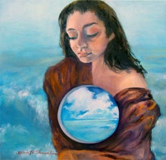 Madonna of the Waters, Painting, Oil on Canvas