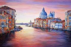 Venice, Painting, Acrylic on Canvas