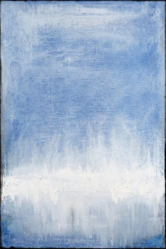 Light and Blue, Painting, Acrylic on Canvas