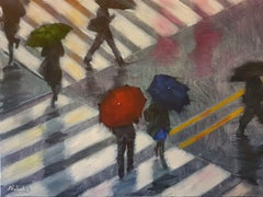 Under This Rain, Painting, Oil on Canvas