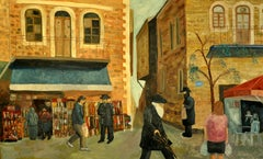 Jerusalem, Painting, Oil on Canvas