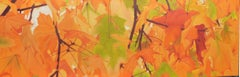 Autumn Leaves, Painting, Oil on Canvas