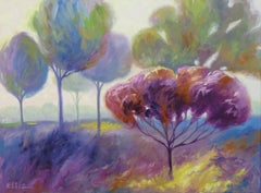 Trees Near Hamilton, Painting, Oil on Canvas