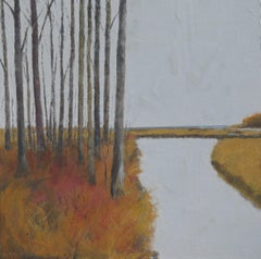 The Marsh #1, Painting, Oil on Canvas