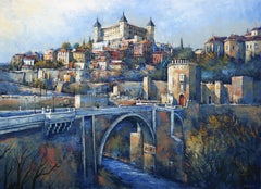 Majestic Toledo, Painting, Oil on Canvas