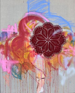A Message for You # Love II, Painting, Acrylic on Canvas