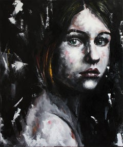 SONJA (PORTRAIT SERIES #5), Painting, Acrylic on Canvas