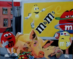 Sweets, Painting, Oil on Canvas