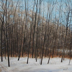 Winter Browns, Painting, Acrylic on Canvas