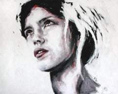 Emma #2 (PORTRAIT SERIES #4), Painting, Acrylic on Canvas