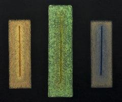 THREE SEGMENTED TONES (TRE TONI SEGMENTATO), Drawing, Pastels on Paper