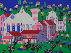 Midsummer, Painting, Acrylic on Canvas