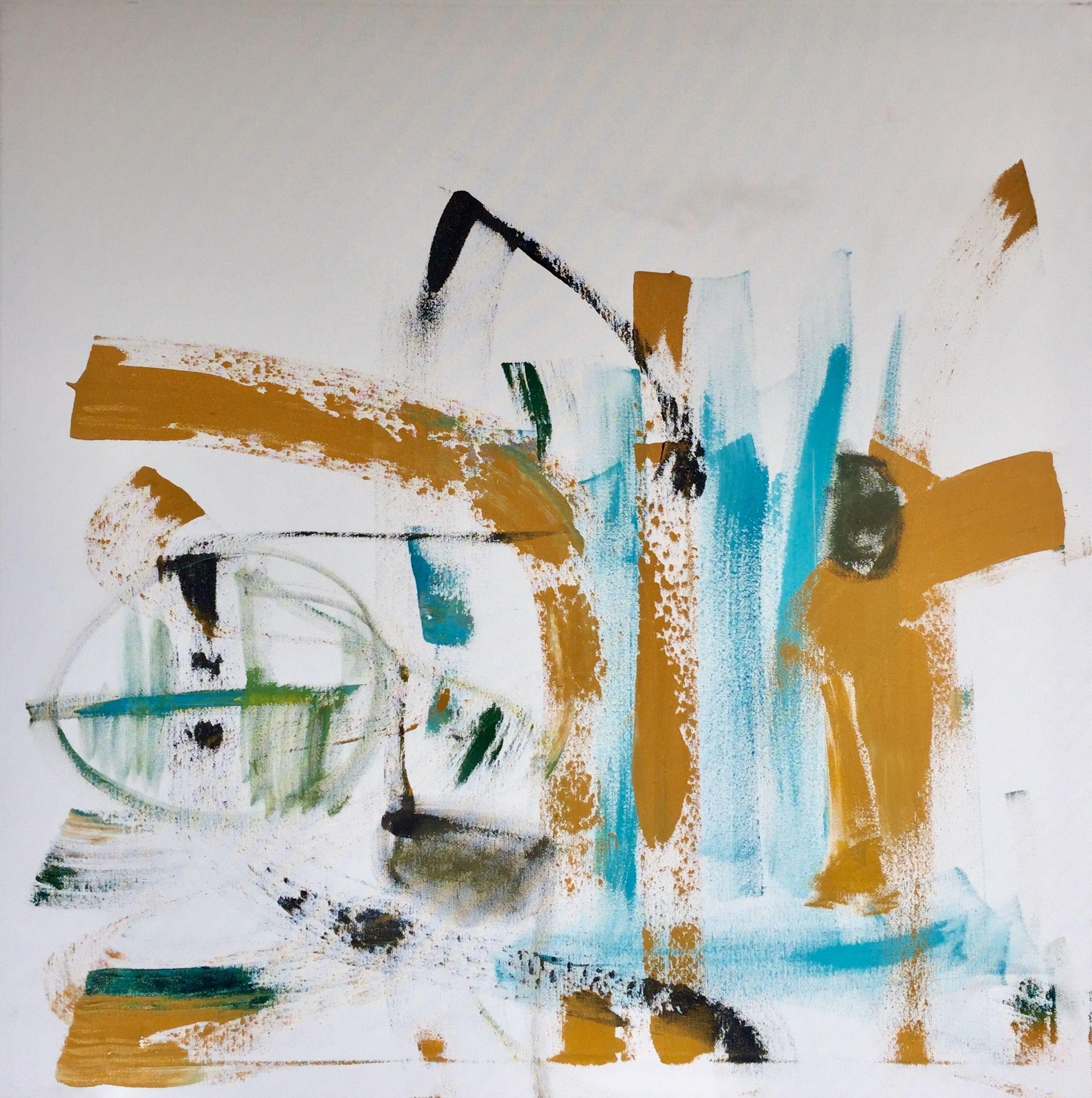Ambivalent, Painting, Acrylic on Canvas