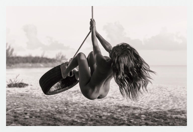 A K Nicholas Black and White Photograph - Tire Swing (mmxix), Photograph, Archival Ink Jet