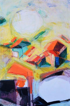 PROVINCES 2, Painting, Oil on Canvas
