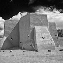 Rancho de Taos No. 3 - METAL PRINT WALL ART, Photograph, C-Type