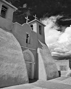 Mission Church -ACRYLIC/METAL PRINT WALL ART, Photograph, C-Type