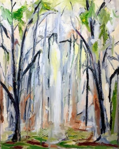 Forest Light, Painting, Oil on Canvas